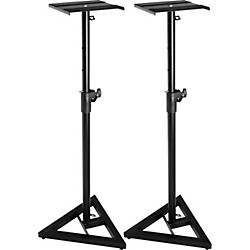 Musician's Gear SMS-6000 Monitor Stand (Pair) (KIT772847)