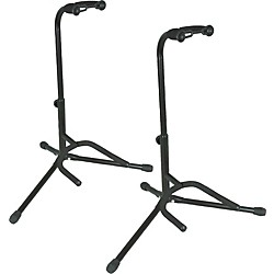 Musician's Gear Tubular Guitar Stand Black Pair (SSG-315-2 BK-MG)