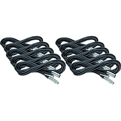 Musician's Gear XLR Microphone Cable 10 Pack (KIT772513)