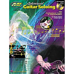Musicians Institute Advanced Guitar Soloing (Book/CD) (695636)