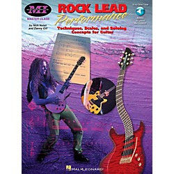 Musicians Institute Rock Lead Performance (Book/CD) (695278)