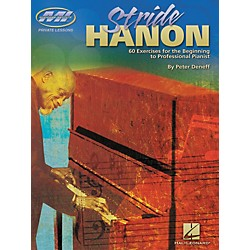 Musicians Institute Stride Hanon - 60 Exercises for the Beginning to Professional Pianist (Book) (695882)
