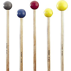 Musser M403 Medium Hard Blue Rubber Mallets (M403)