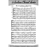 Fred Bock Music My Lord, What a Mourning SATB arranged by William L. Dawson