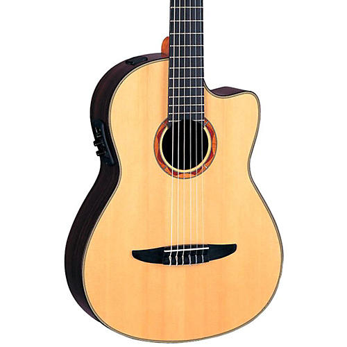 Yamaha NCX1200R Acoustic-Electric Classical Guitar Natural