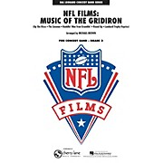 Cherry Lane NFL Films: Music of the Gridiron - Young Concert Band Level 3 by Michael Brown