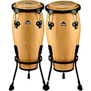 Nino NINO910 Wood Conga Set with Stands