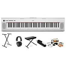Yamaha NP32 Portable Keyboard with Headphones, Bench, Stand and Sustain Pedal