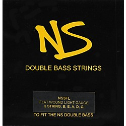 NS Design Roundwound Double Bass Strings (NS4RW)