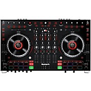 Numark NS6II Premium 4-Channel DJ Controller with Dual USB and Displays