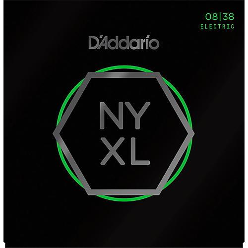 D'Addario NYXL0838 Extra Super Light Electric Guitar Strings-thumbnail