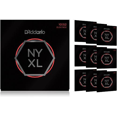D'Addario NYXL1052 Light Top/Heavy Bottom 10-Pack Electric Guitar Strings-thumbnail