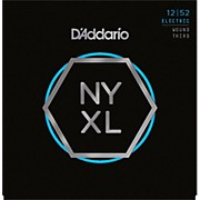 D'Addario NYXL1252W Light Electric Guitar Strings