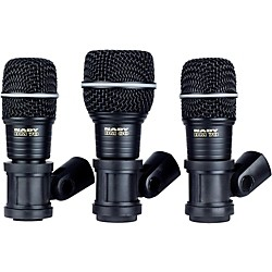 Nady DMK3 3-Piece Drum Microphone Package (10219-68)
