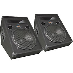 Nady FWA-15 Powered Floor Monitor Pair (KIT773288)