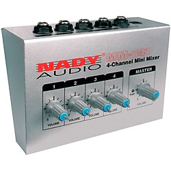 Nady MM-141 4-Channel Mini Mixer (10220-25)