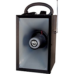 Nady MPA-400 Wireless Megaphone PA System with Wireless Handheld Mic (6021-00)