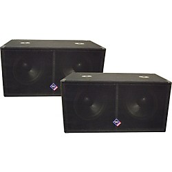 "Nady PSW-152 Dual 15"" Subwoofer Pair (KIT773289)"