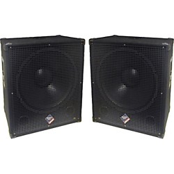 "Nady PSW 18"" LF 600 Watt Subwoofer Pair (KIT773276)"