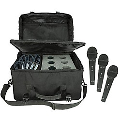Nady SP-R3 Mic 6-Pack with Cables and Mic Bag (KIT772558)