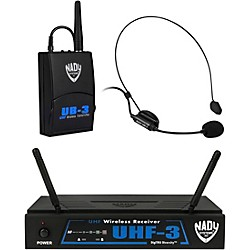 Nady UHF-3 Headset HM-3 Wireless System (10423-40)