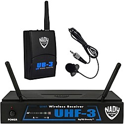Nady UHF-3 Lavalier Wireless System (10423-31)