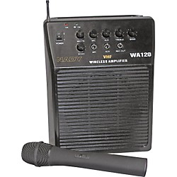 Nady WA-120 Portable PA System with Wireless Handheld Mic (12015-10)