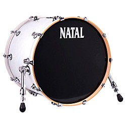 Natal Drums Ash Series Bass Drum (M-S-AS-B218-WS)