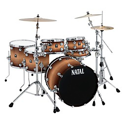 Natal Drums Birch Fusion 22 Plus 6-Piece Shell Pack (M-K-BR-F22P-TF)