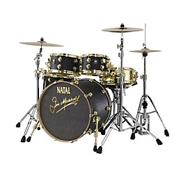 Natal Drums Limited Edition Jim Marshall Maple 4-Piece Shell Pack (M-K-JMK-LTD-KIT)