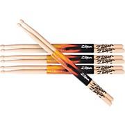 Zildjian Natural Hickory Drumsticks 5A Wood Buy 3 Get One Free