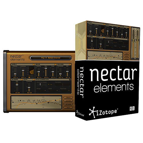 iZotope Nectar Elements Vocal Processing Software-thumbnail