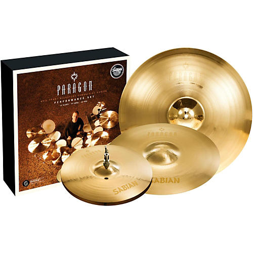 Sabian Neil Peart Paragon Performance Cymbal Pack Brilliant-thumbnail