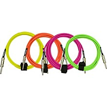 DiMarzio Neon Overbraid Instrument Cable