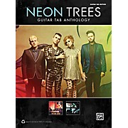 Alfred Neon Trees Anthology Guitar TAB Book