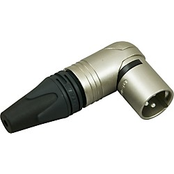 Neutrik XLR Male Right Angle Connector (GCNC3MRC)