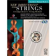 FJH Music New Directions For Strings, Teacher Manual Book 1