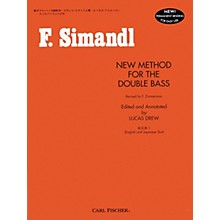 Carl Fischer New Method For The Double Bass Book