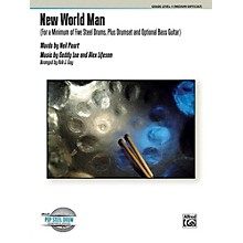 Alfred New World Man Steel Drum Ensemble Score & Parts