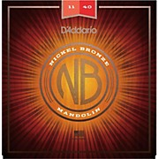 D'Addario Nickel Bronze Mandolin, Medium, 11-40