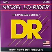 DR Strings Nickel Lo-Rider 5 String Bass Medium .130 Low B (45-130)