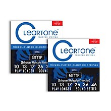 Cleartone Nickel-Plated Light Electric Guitar Strings .10 - .46  2-Pack