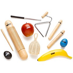 Nino 8-Piece Percussion Assortment with Bag (NINOSET4)