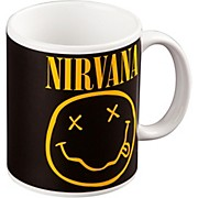 ROCK OFF Nirvana Smiley Mug