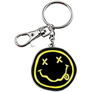 C&D Visionary Nirvana Smiley-face Metal Keychain