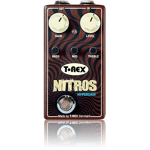 T-Rex Engineering Nitros Hypergain Distortion Guitar Effects Pedal-thumbnail