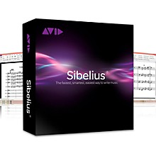 Sibelius Notation Software Plus Photoscore and Audioscore with Support (Academic Version)