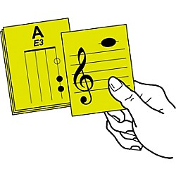 Notes & Strings Stringed Instrument Flashcards (NS-VLA1CL)