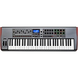 Novation Impulse 61 MIDI Controller (AMS-Novation IMPULSE 61)