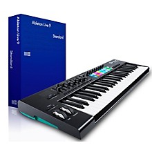 Novation Novation Launchkey 49 MIDI Controller with Ableton Live 9.5 Standard